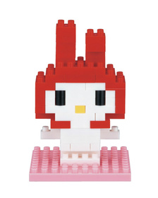 Конструктор My Melody Hello Kitty Nanoblock