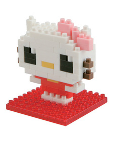 Конструктор Kawaii Hello Kitty Nanoblock