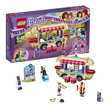 LEGO Friends - Парк развлечений - фургон с хот-догами
