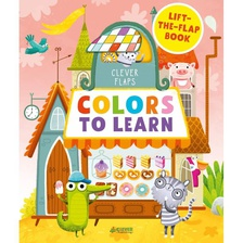 Книга English Books Colors To Learn Учим цвета