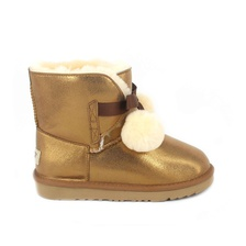 Угги UGG Kids Gita Metallic Gold
