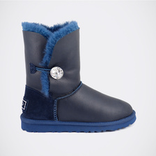 Угги UGG Kids Bailey Bling Metallic Navy