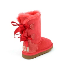 Угги UGG Kids Bailey Bow Red