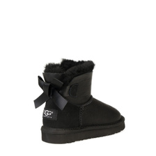 Угги UGG Kids Mini Bailey Bow Metallic Black
