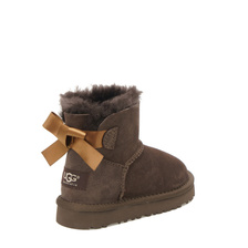 Угги UGG Kids Mini Bailey Bow Chocolate