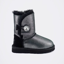 Угги UGG Kids Bailey Bling Glitter Black