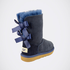 Угги UGG Kids Bailey Bow Navy