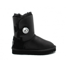 Угги UGG Kids Bailey Bling Metallic Black