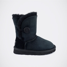 Угги UGG Kids Bailey Button Black