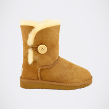 Угги UGG Kids Bailey Button Chestnut