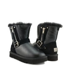 Угги UGG Kids Blaise Metallic Black