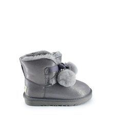Угги UGG Kids Gita Metallic Grey